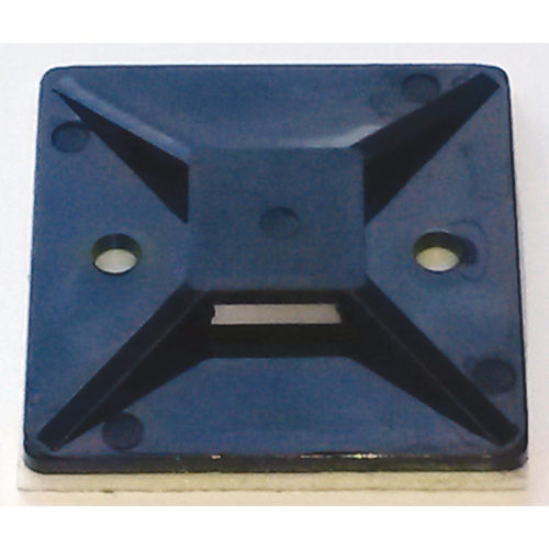 ISL 40 X 40MM CABLE TIE MOUNTING BASE - BLACK - 100PK
