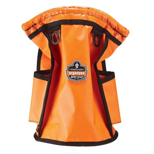 ERGODYNE TOPPED PARTS POUCH ORANGE 19X19X30CM 9KG