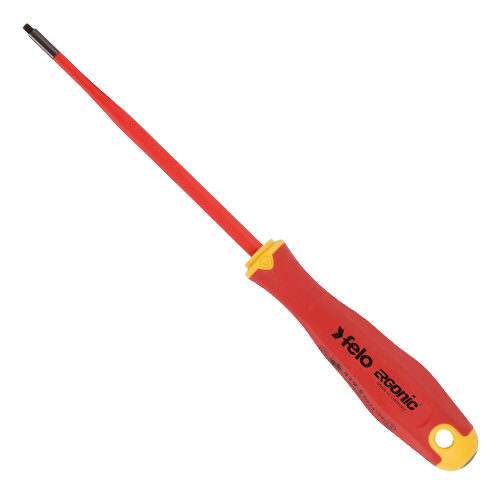 419 Ergonic E-slim Screwdriver Square #1 x 100mm Insulated Hardened Tip